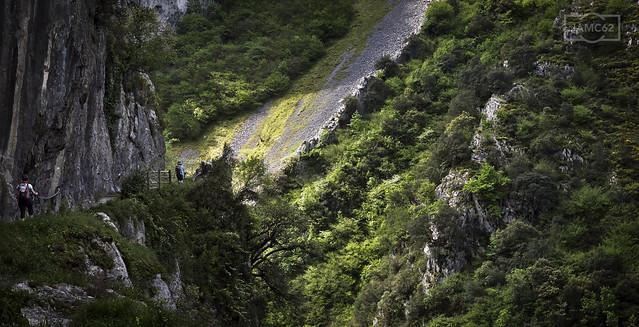Por la ruta del desfiladero de las Xanas