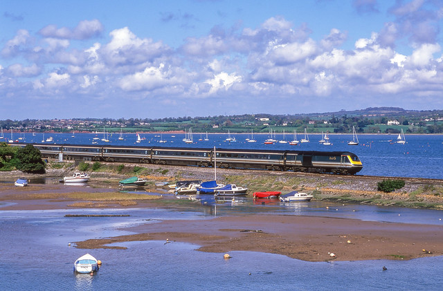 F.G.W. HST At Cockwood Harbour. 29/04/2000.