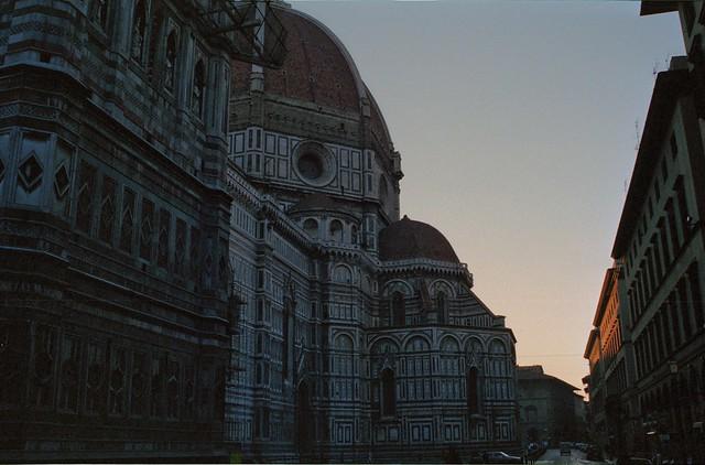 Morgenstimmung in Florenz