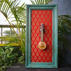 Veena Wall Frame – Yellow Verandah