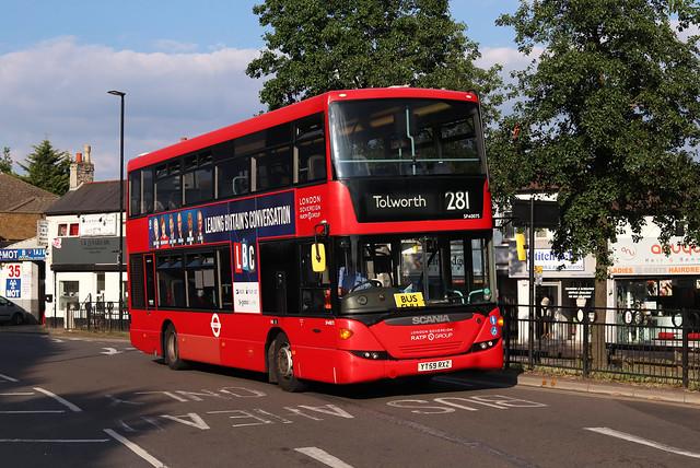 Route 281, London United, SP40075, YT59RXZ