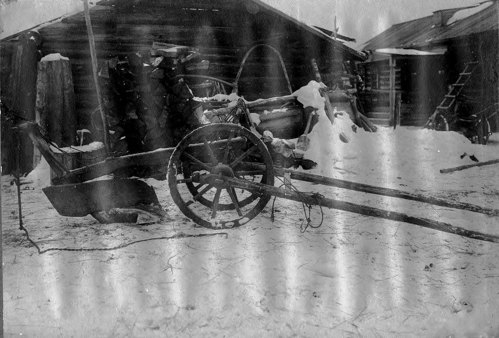 Соха – «колесуха», использовавшаяся для пахоты земли с глубоким почвенным слоем.