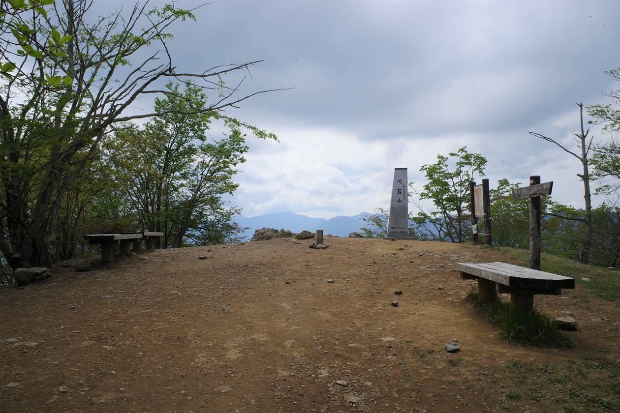【奥多摩】川苔山山頂