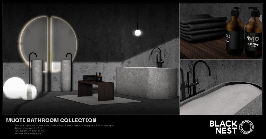 BLACK NEST   Muoti Bathroom Collection   Uber