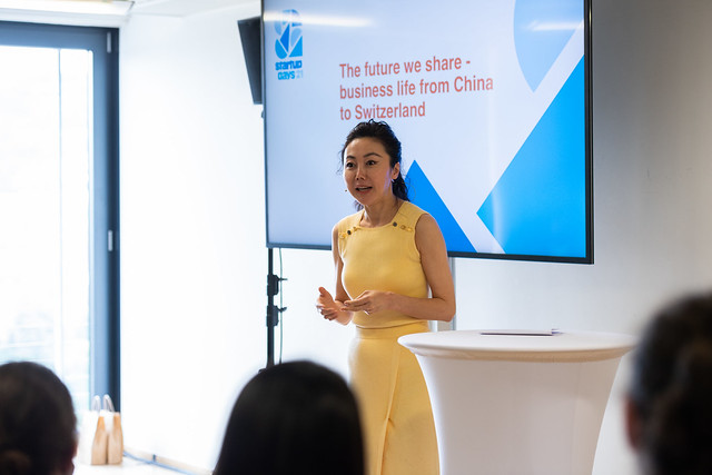 The future we share − business life from China to Switzerland