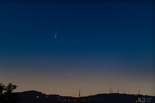 Cometa Neowise: foto di Chiara Righi
