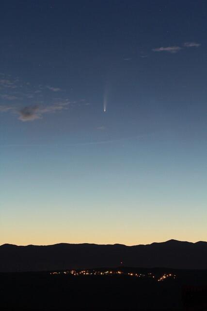 Cometa Neowise: Ana Gulic. Krk, Croazia