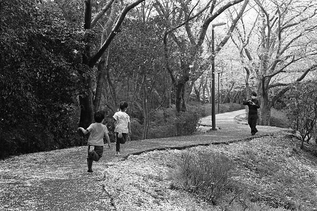 子供はいつも走ってる。