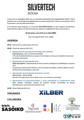 SilverTech Bizkaia con BBK Sasoiko  o cómo superar la brecha digital a cualquier edad