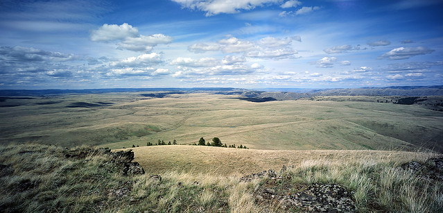 From the top of Harsin Butte