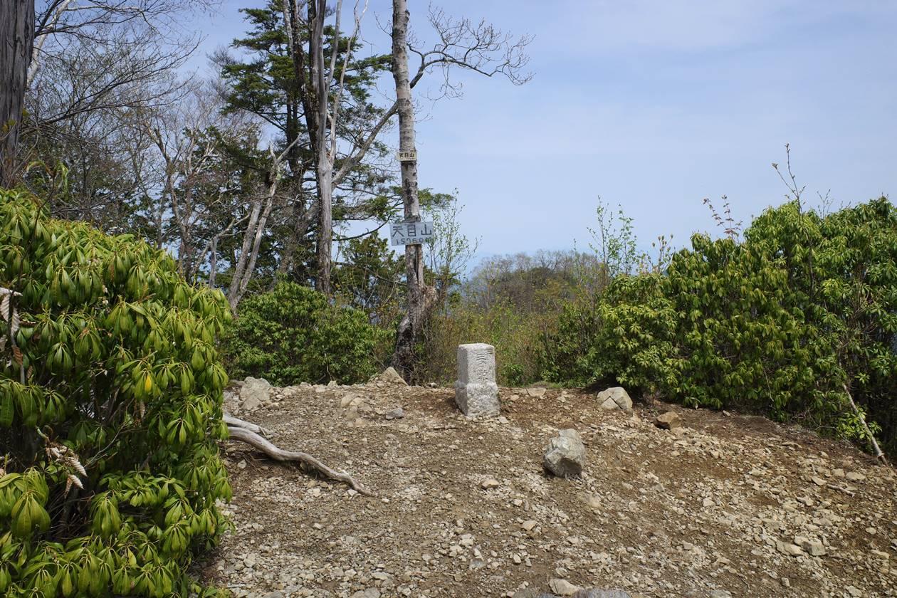 奥多摩・天目山(三ツドッケ)山頂