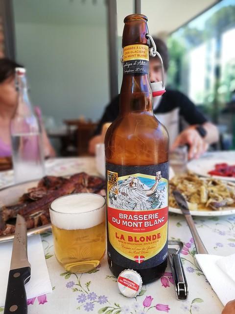 Brasserie du Mont Blanc La Blonde