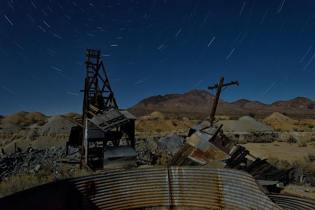 mineral decay. mojave desert, ca. 2016.
