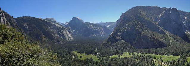 Yosemite Valley - Yosemite Nationalpark, California - Panorama