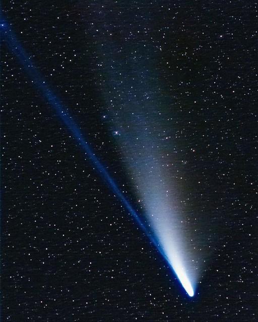 Cometa Neowise: Paola Battaglia. Appennino lombardo.