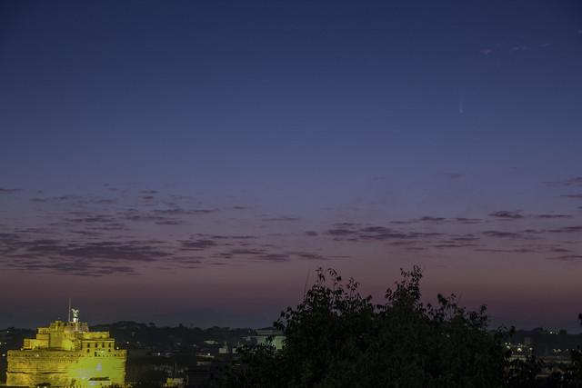 Cometa Neowise: Stefano Capretti. ISO 600, 2 secondi di esposizione