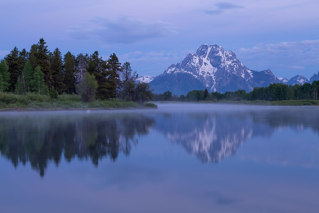 Grand Teton National Park in the Morning