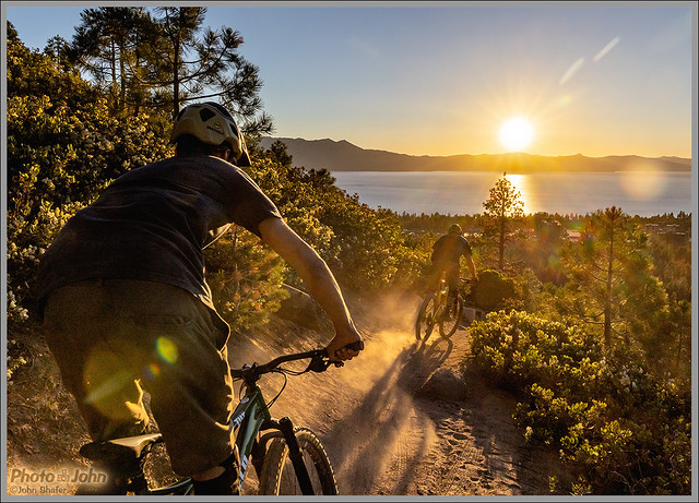 Lake Tahoe Sunset Descent