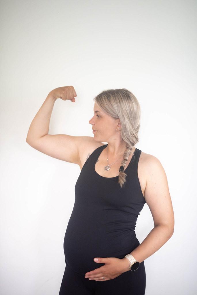 Liikunta raskauden toisella kolmanneksella