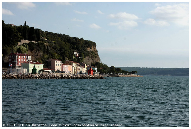 Piran Transverse Mole and West Mole Lighthouses