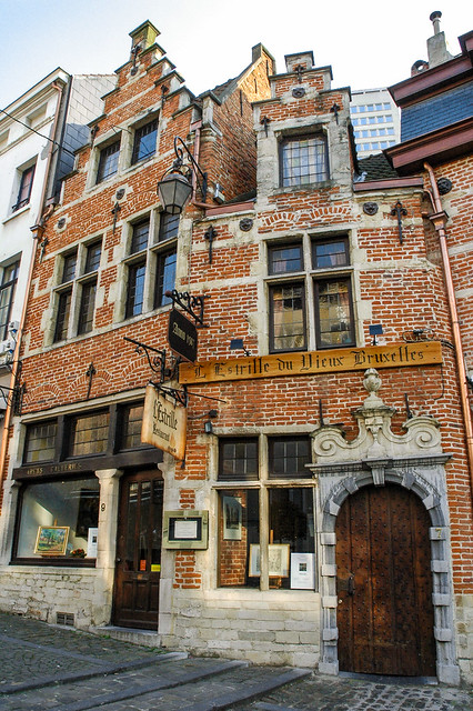 L'Estrille du Vieux, rue de Rollebeek 7, Bruxelles, Belgique