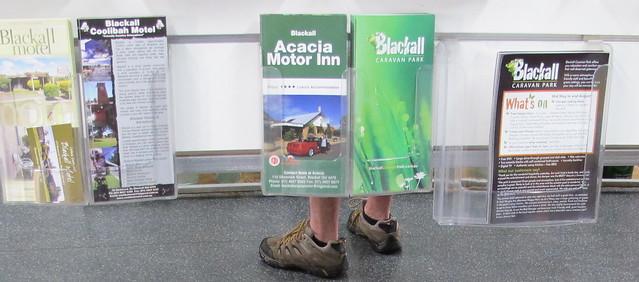 Blackall maps with feet
