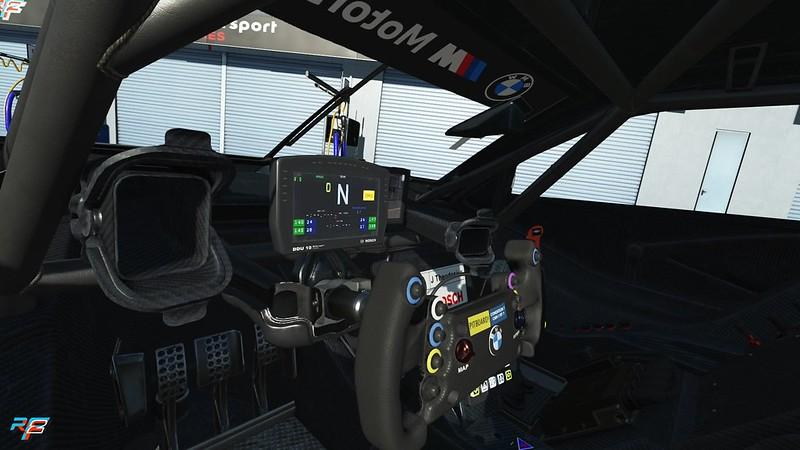 rFactor 2 BMW M4 Class 1 Cockpit