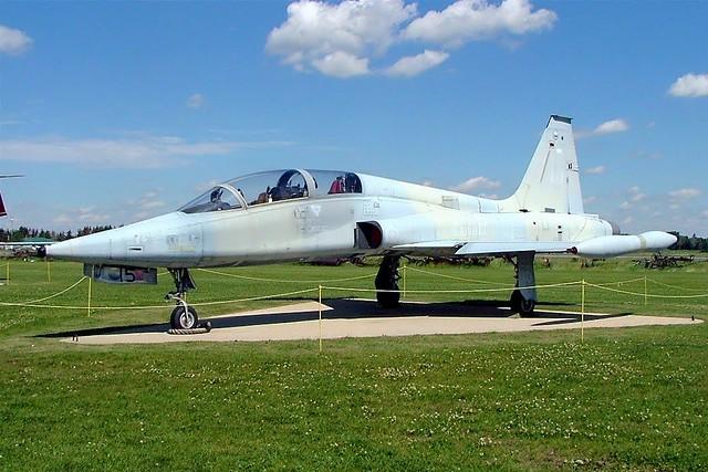116815   Canadair CF-116B Freedom Fighter [2015] (Ex Royal Canadian Air Force / Reynolds Alberta Museum)  Wetaskiwin Regional Airport~C 23/07/2008