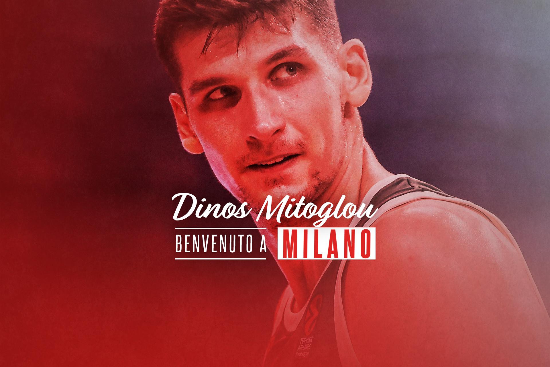 """""""Una nuova sfida, grandi ambizioni"""": all'Olimpia arriva Dinos Mitoglou"""