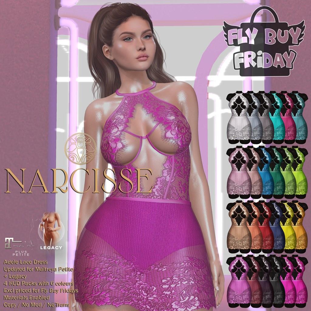 -Narcisse- Fly Buy Fridays 25th June