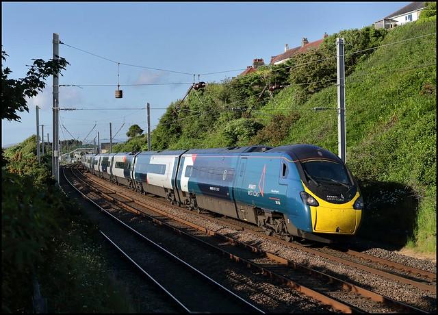 Hest Bank, AWC 390156 16.52 Edinburgh Waverley - London Euston) 12/06/21.