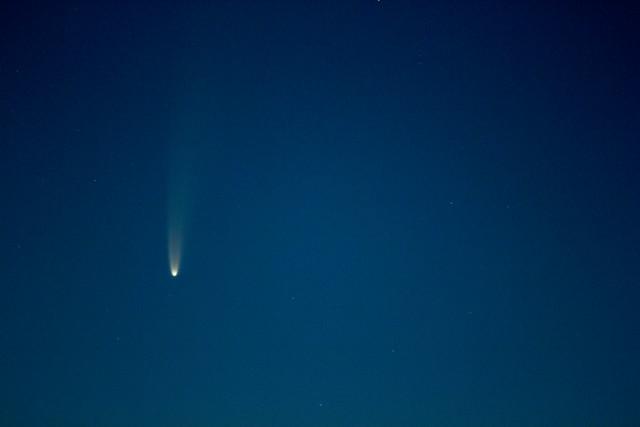 Cometa Neowise: Stefano Capretti: ISO 800, 1.5 secondi di esposizione