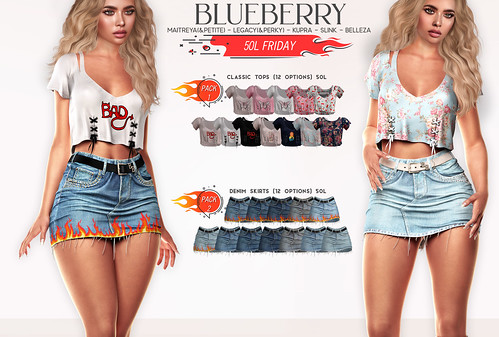 Blueberry FLF HBIC Set