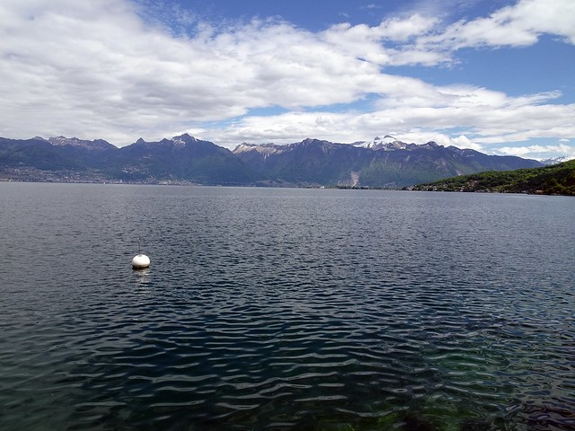 Lac Leman ( Genfersee ) bei Saint Gingolph