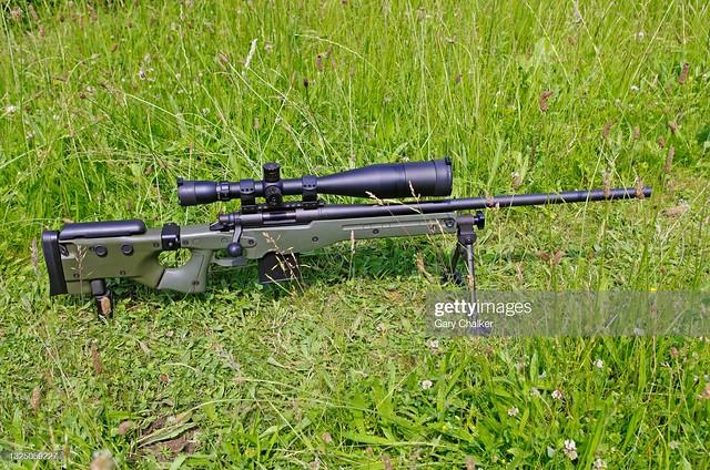 7.62×51mm NATO sniper rifle