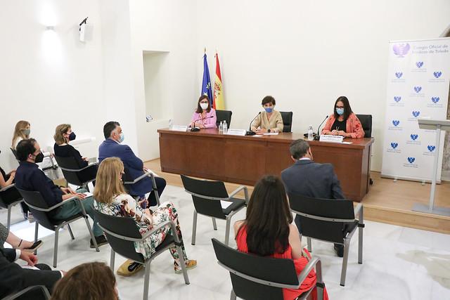 Nueva Junta Directiva del Colegio Oficial de Médicos de Toledo