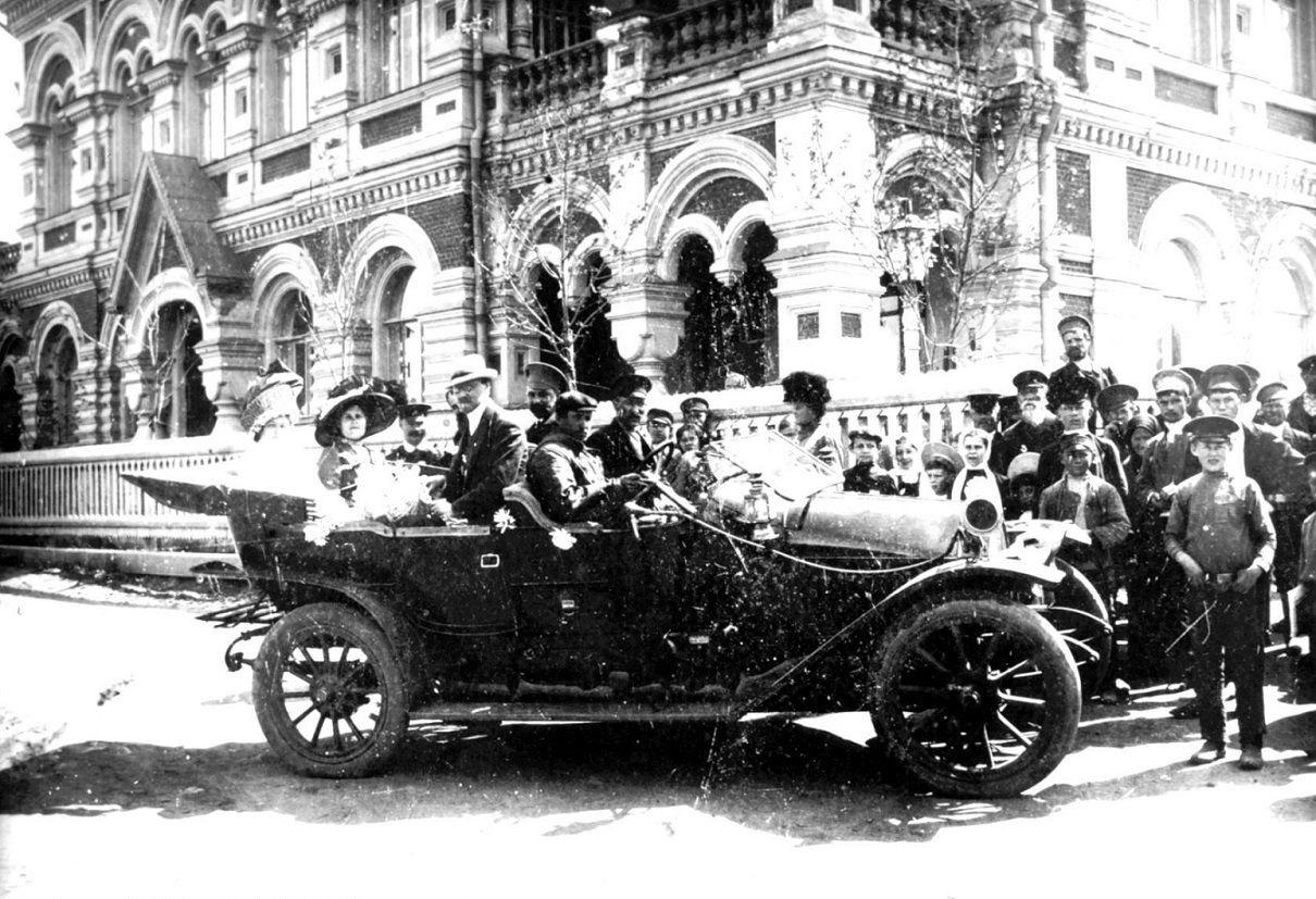 Первый автомобиль Камышина