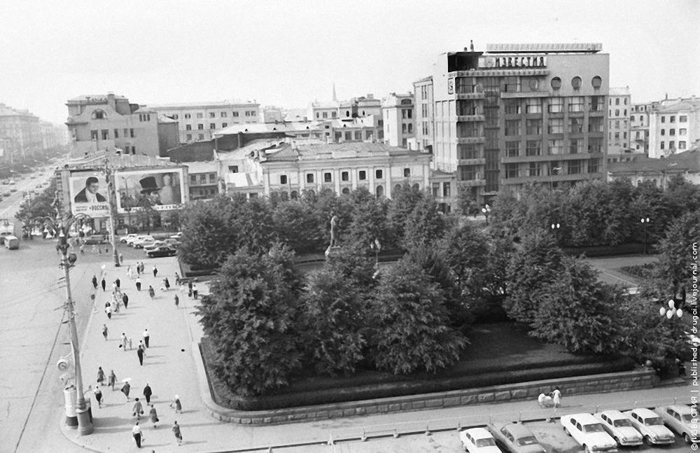1967. Площадь им. Пушкина.