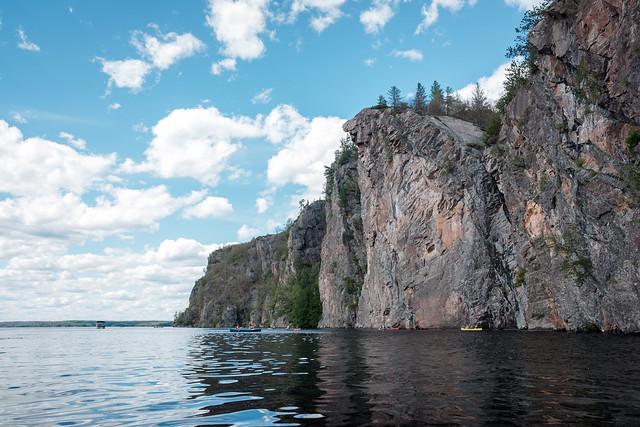 Mazinaw Rock on Mazinaw Lake