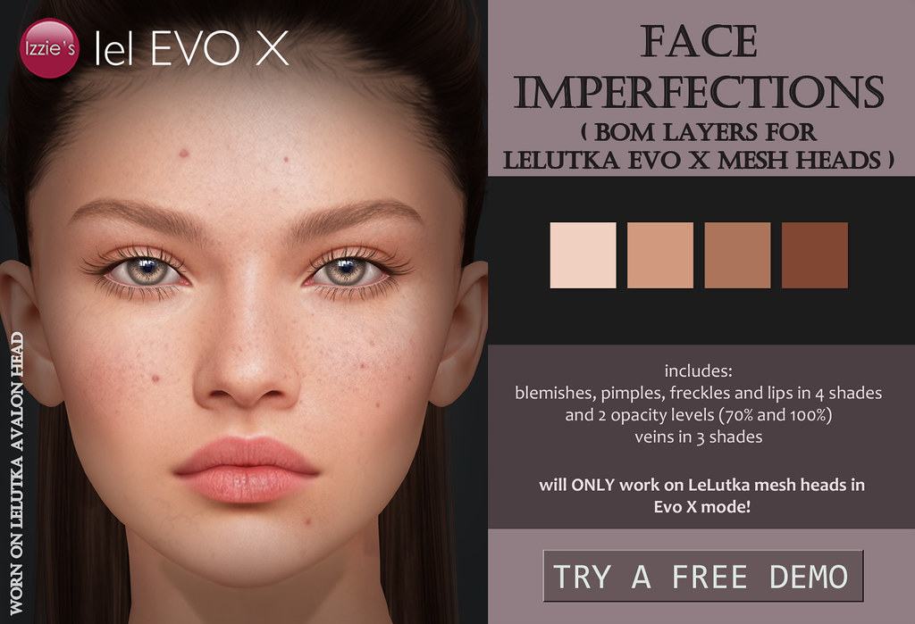 Izzie's – Face Imperfections (LeLutka Evo X) for FLF
