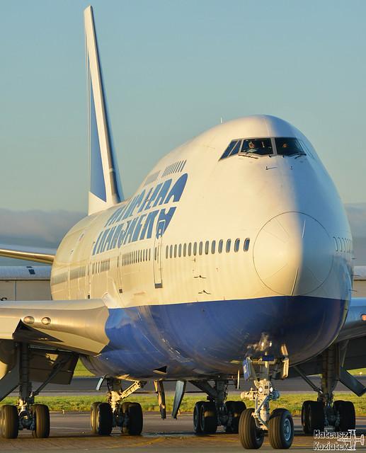 Transaero Airlines 🇷🇺 Boeing 747-400 EI-XLC