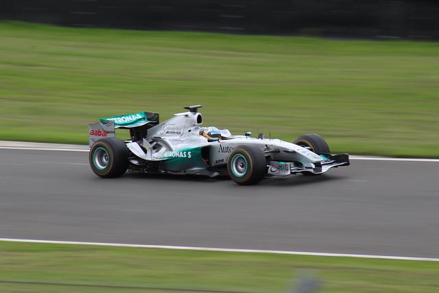 Honda RA1082 demonstration laps
