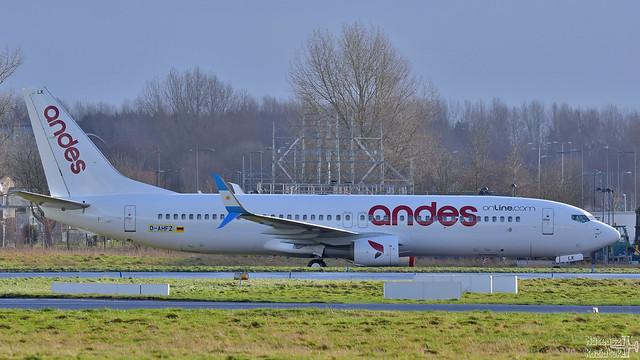 Andes Líneas Aéreas 🇦🇷 Boeing 737-800 D-AHFZ