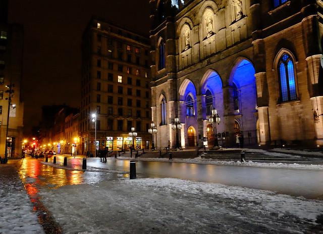 Notre Dame Basilica in Montreal, Canada