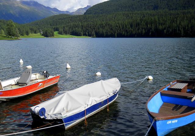 Lago St.Moritz. Suiza