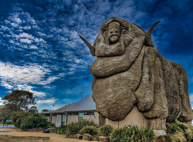 The Big Merino in Goulbourn, New South Wales