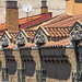 Ático abuhardillado de la calle Espoz y Mina 31 en Zaragoza, la conocida como Casa Artiach