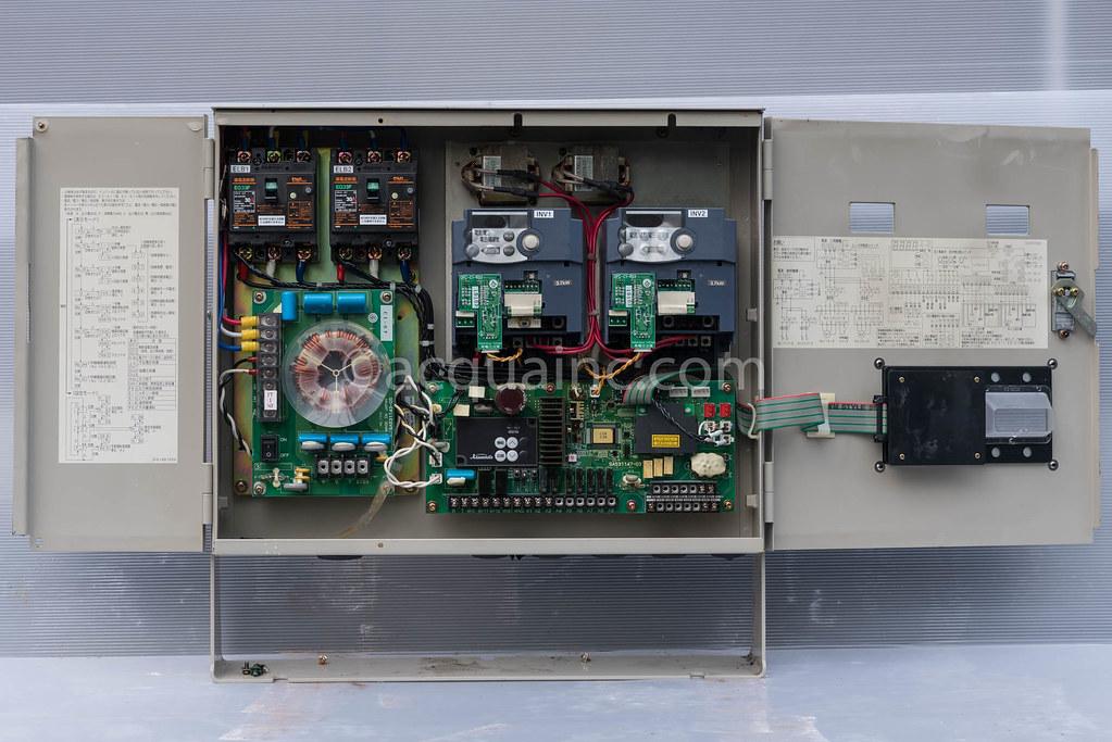 制御盤内 ECSG3-A3.7 川本製作所