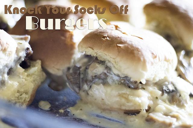 Knock your socks off burgers