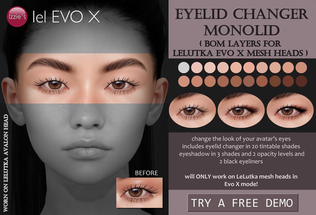 Eyelid Changer Monolid (LeLutka Evo X)